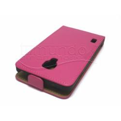 Funda Piel Premium Ultra-Slim Lg Optimus L7 II P710 Rosa / Fucsia