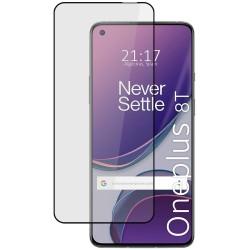 Protector Cristal Templado Completo 5D Full Glue Negro para OnePlus 8T 5G Vidrio