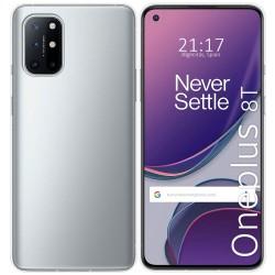 Funda Silicona Gel TPU Transparente para OnePlus 8T 5G