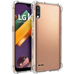 Funda Gel Tpu Anti-Shock Transparente para Lg K22