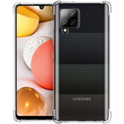 Funda Gel Tpu Anti-Shock Transparente para Samsung Galaxy A42 5G