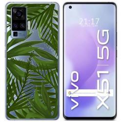 Funda Gel Transparente para Vivo X51 5G diseño Jungla Dibujos