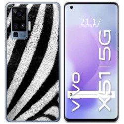Funda Gel Tpu para Vivo X51 5G diseño Animal 02 Dibujos