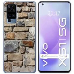 Funda Gel Tpu para Vivo X51 5G diseño Ladrillo 03 Dibujos