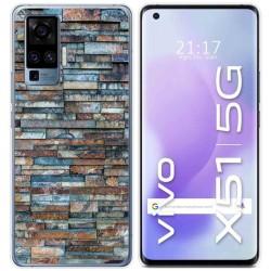 Funda Gel Tpu para Vivo X51 5G diseño Ladrillo 05 Dibujos