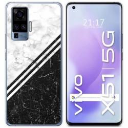 Funda Gel Tpu para Vivo X51 5G diseño Mármol 01 Dibujos