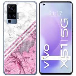 Funda Gel Tpu para Vivo X51 5G diseño Mármol 03 Dibujos