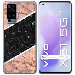 Funda Gel Tpu para Vivo X51 5G diseño Mármol 07 Dibujos
