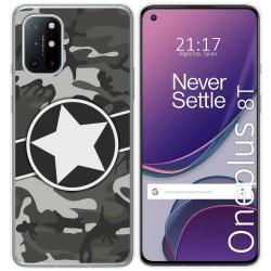 Funda Gel Tpu para OnePlus 8T 5G diseño Camuflaje 02 Dibujos