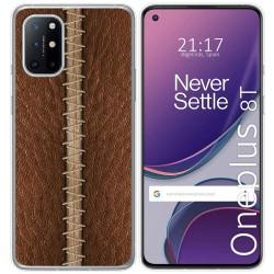 Funda Gel Tpu para OnePlus 8T 5G diseño Cuero 01 Dibujos