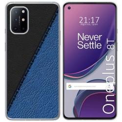 Funda Gel Tpu para OnePlus 8T 5G diseño Cuero 02 Dibujos