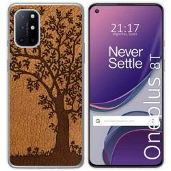 Funda Gel Tpu para OnePlus 8T 5G diseño Cuero 03 Dibujos