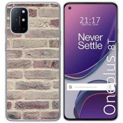 Funda Gel Tpu para OnePlus 8T 5G diseño Ladrillo 01 Dibujos
