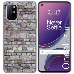 Funda Gel Tpu para OnePlus 8T 5G diseño Ladrillo 02 Dibujos