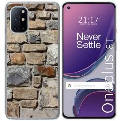 Funda Gel Tpu para OnePlus 8T 5G diseño Ladrillo 03 Dibujos