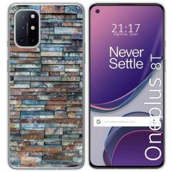 Funda Gel Tpu para OnePlus 8T 5G diseño Ladrillo 05 Dibujos