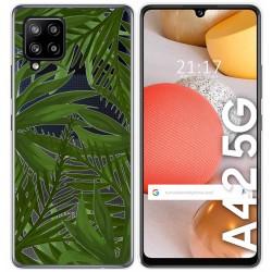 Funda Gel Transparente para Samsung Galaxy A42 5G diseño Jungla Dibujos