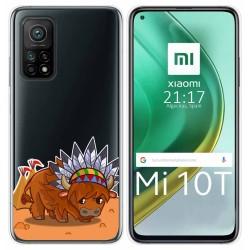 Funda Gel Transparente para Xiaomi Mi 10T / 10T Pro diseño Bufalo Dibujos