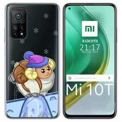 Funda Gel Transparente para Xiaomi Mi 10T / 10T Pro diseño Cabra Dibujos