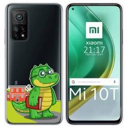 Funda Gel Transparente para Xiaomi Mi 10T / 10T Pro diseño Coco Dibujos