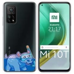 Funda Gel Transparente para Xiaomi Mi 10T / 10T Pro diseño Hipo Dibujos