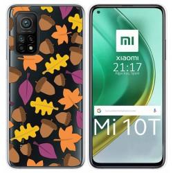 Funda Gel Transparente para Xiaomi Mi 10T / 10T Pro diseño Otoño Dibujos