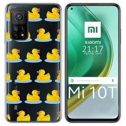 Funda Gel Transparente para Xiaomi Mi 10T / 10T Pro diseño Pato Dibujos