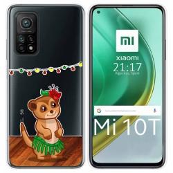 Funda Gel Transparente para Xiaomi Mi 10T / 10T Pro diseño Suricata Dibujos