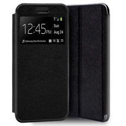 Funda Libro Soporte con Ventana para OnePlus 8T 5G Color Negra