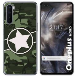 Funda Gel Tpu para OnePlus Nord diseño Camuflaje 01 Dibujos