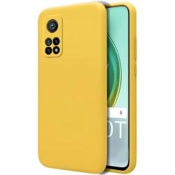 Funda Silicona Líquida Ultra Suave para Xiaomi Mi 10T / 10T Pro color Amarilla