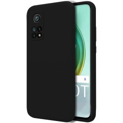 Funda Silicona Líquida Ultra Suave para Xiaomi Mi 10T / 10T Pro color Negra