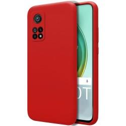 Funda Silicona Líquida Ultra Suave para Xiaomi Mi 10T / 10T Pro color Roja