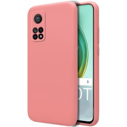 Funda Silicona Líquida Ultra Suave para Xiaomi Mi 10T / 10T Pro color Rosa