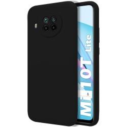 Funda Silicona Líquida Ultra Suave para Xiaomi Mi 10T Lite color Negra