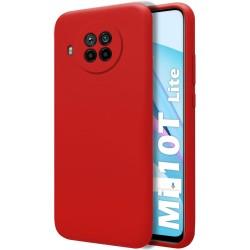 Funda Silicona Líquida Ultra Suave para Xiaomi Mi 10T Lite color Roja