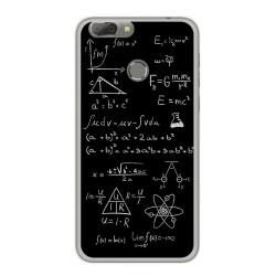 Funda Gel Tpu para Oukitel U20 Plus Diseño Formulas Dibujos