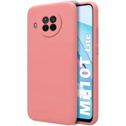 Funda Silicona Líquida Ultra Suave para Xiaomi Mi 10T Lite color Rosa