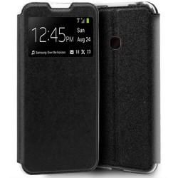 Funda Libro Soporte con Ventana para OnePlus Nord N10 5G Color Negra