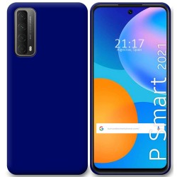 Funda Silicona Gel TPU Azul para Huawei P Smart 2021