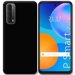 Funda Silicona Gel TPU Negra para Huawei P Smart 2021