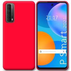 Funda Silicona Gel TPU Rosa para Huawei P Smart 2021