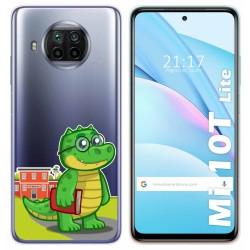Funda Gel Transparente para Xiaomi Mi 10T Lite diseño Coco Dibujos