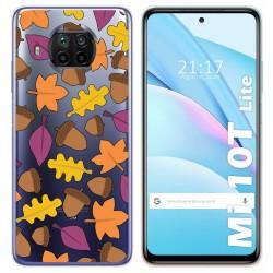 Funda Gel Transparente para Xiaomi Mi 10T Lite diseño Otoño Dibujos