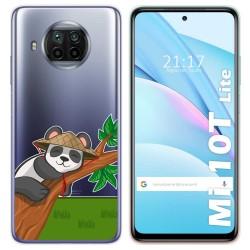 Funda Gel Transparente para Xiaomi Mi 10T Lite diseño Panda Dibujos