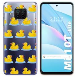 Funda Gel Transparente para Xiaomi Mi 10T Lite diseño Pato Dibujos