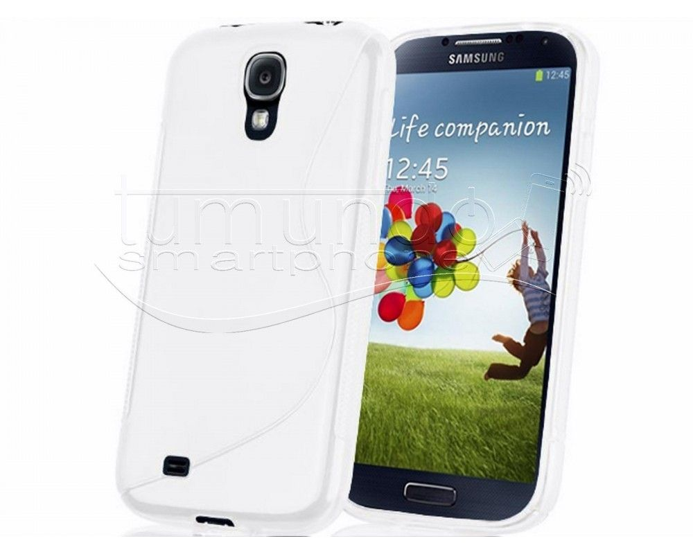 Funda Gel Tpu Samsung Galaxy S4 Mini I9190 S Line Color Blanca
