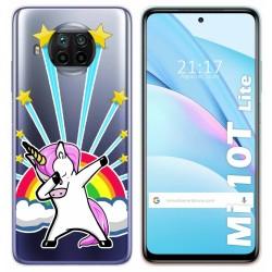 Funda Gel Transparente para Xiaomi Mi 10T Lite diseño Unicornio Dibujos