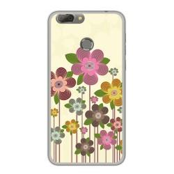 Funda Gel Tpu para Oukitel U20 Plus Diseño Primavera En Flor Dibujos