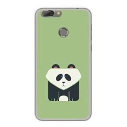 Funda Gel Tpu para Oukitel U20 Plus Diseño Panda Dibujos